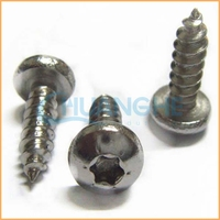 Made in china cheap stainless steel pancake head screws