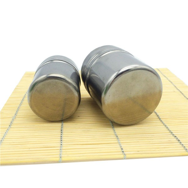 promotion gift Stainless Steel spice jars wholesale and salt pepper shaker