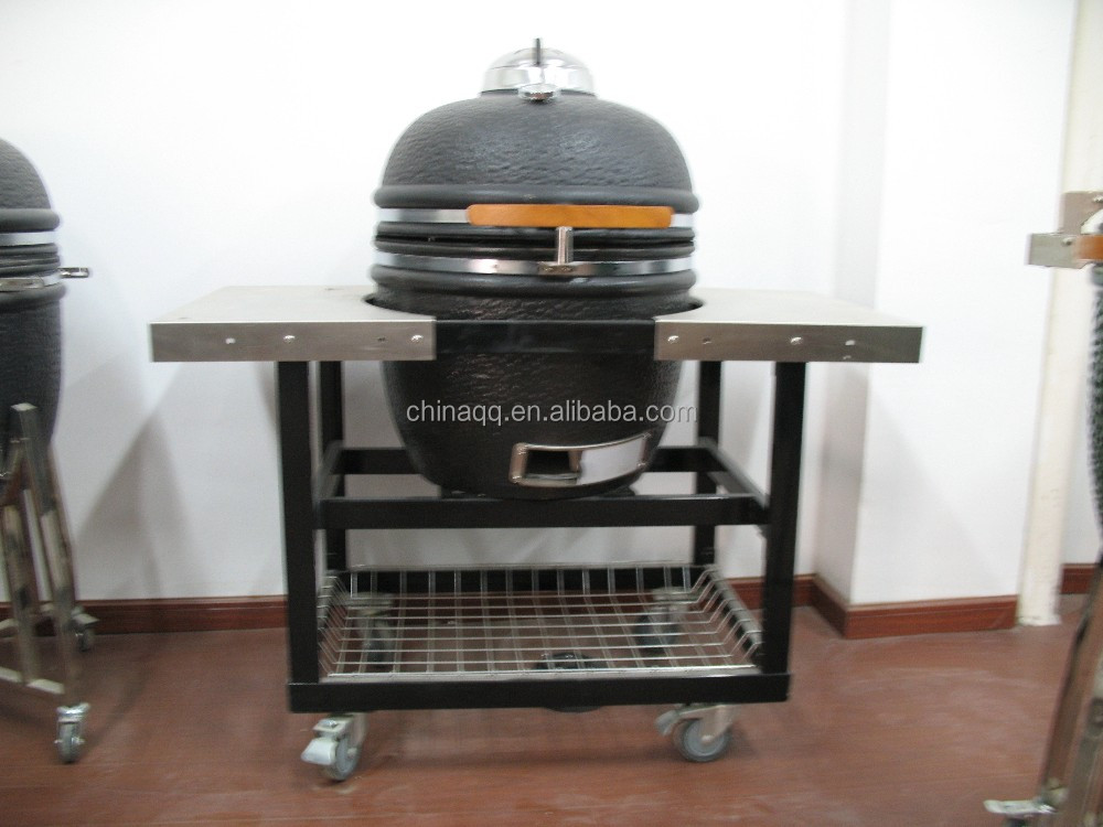 Ceramic charcoal burning pellet bbq grills pizza oven , 22inch Kamado Ovens , Pizza stove