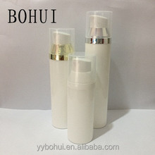 Plastic pump bottle 50ml skin care pump cosmetic airless bottle