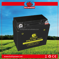 ytx7-bs motorcycle battery 12V 7ah terminal