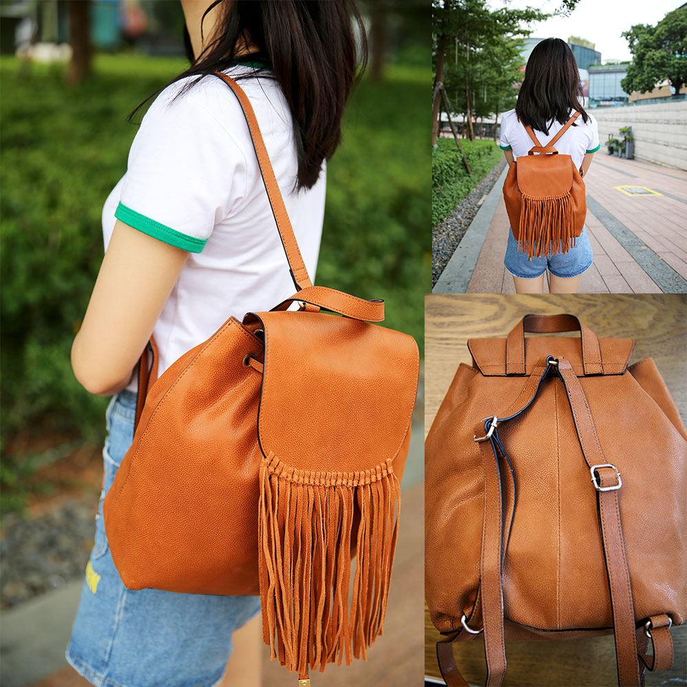 Women's Genuine Cow Leather Quality Large Capacity Backpack School Shoulder Bag Women Tote Handbag