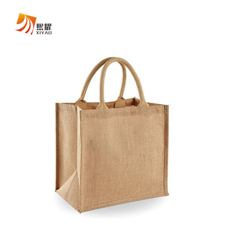 Cheap bag plain eco jute bags trendy shopping bag <strong>totes</strong>