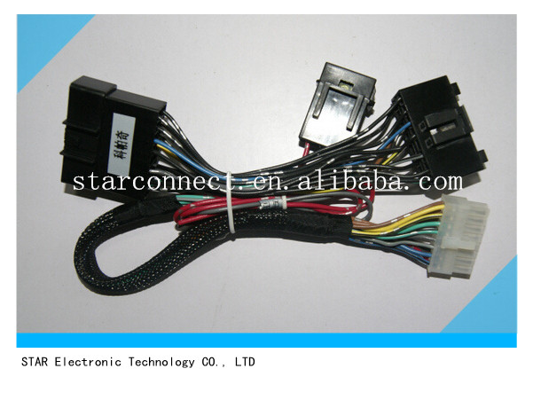 automobile power window wire harness for Chevrolet Captiva