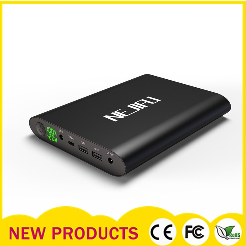 High capacity power bank 50000mah, laptop charger 19V battery pack
