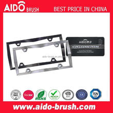 AD-1617customized cars licences plate frame for cars/car number plate frame