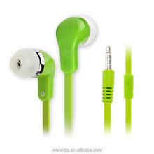 new simply fashionable noodle earbud head phones