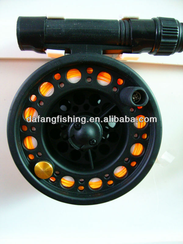 Black And Cheap Chinese Fly Reel