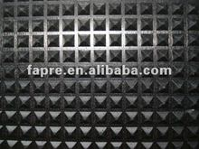 auto car truck rubber pyramid pattern easy cleaning mat matting floor flooring pad
