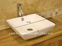 Bathroom Top Mount Ceramic Sink