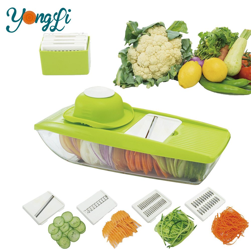 New Product Multifunctional Hand-Powered Food Fruit and Vegetable Chopper