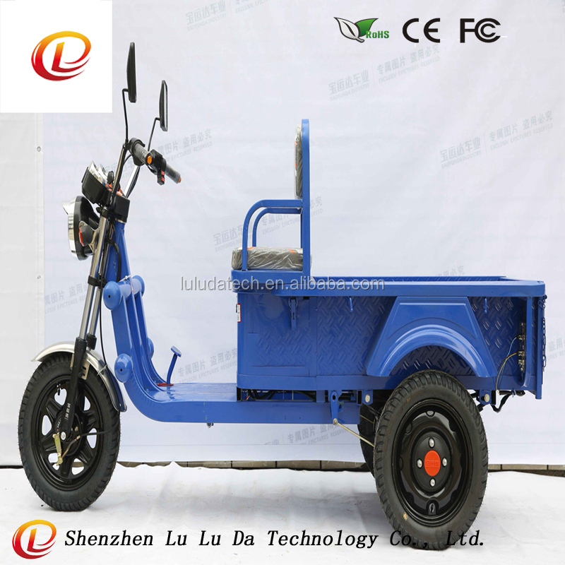48V 500w Heavy Loading Tricycle electric Cargo Bike