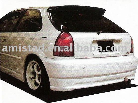 AUTO PART CAR REAR BUMPER COVER FOR HONDA CIVIC EG 3D 1992-1995