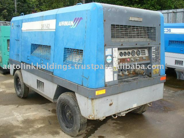 used air compressor, AIR MAN, PDS655S