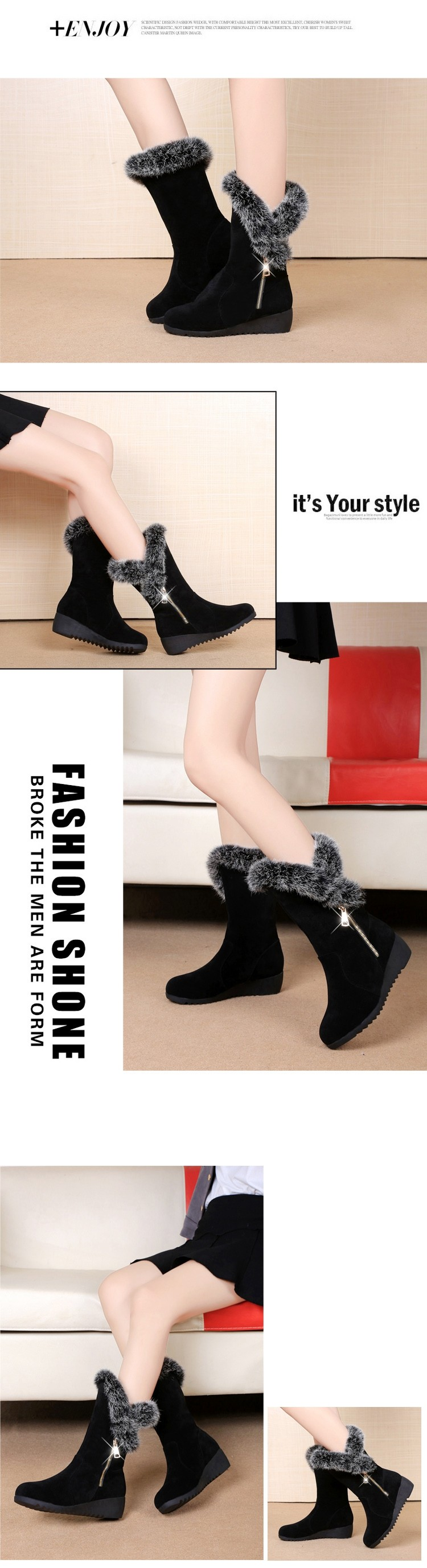 Chinese Nice Winter Snow Boots,Women Winter Boots Shoes