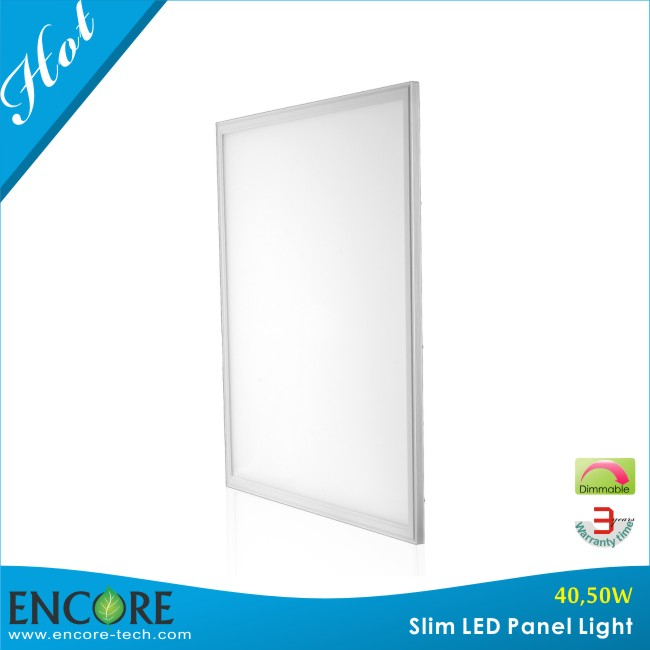 Aluminum Lamp Body Material and CE,RoHS Certification Flat LED Panel Light