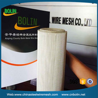 20 mesh 99.99% pure silver conductive wire mesh fabric used as electrode in solar cells