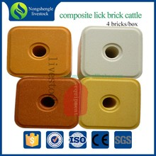 Veterinary mineral salt block licks for cattle sheep goat camel