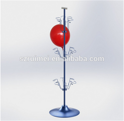 3-Tier Detachable Spinning Metal Balloon Display stand