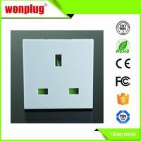 Alibaba China best price 13A 250V UK socket electrical outlet