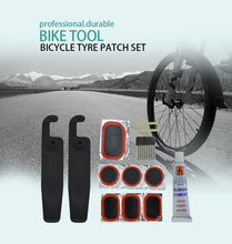 Article No. TP03 transparent box bicycle cold tire repair patch kit