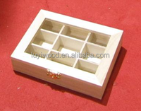 2015 year china factory suppliers selling gift wooden Essential oil packaging box in storage boxes cheap price