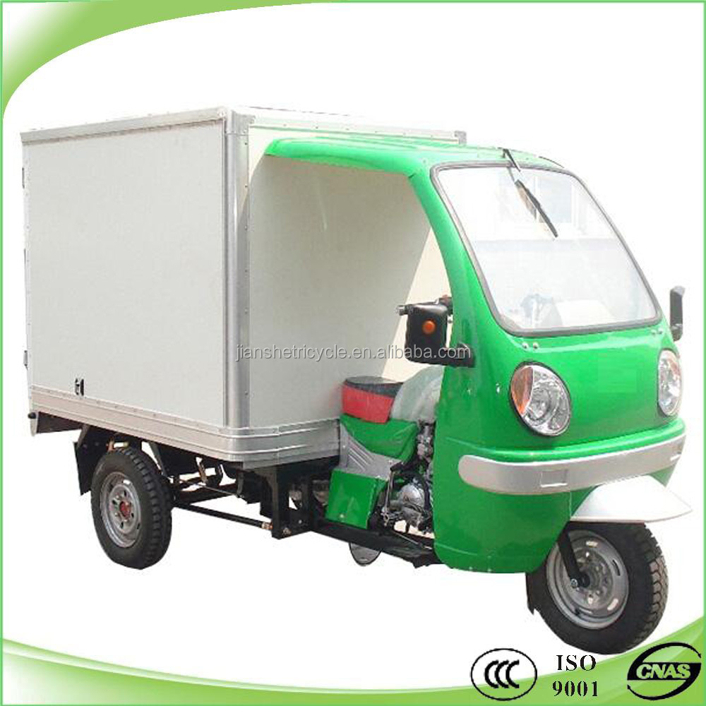 Hot selling high quality 150cc 200cc cargo motorcycle with cabin