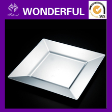 ES-03 plastic square silver coated plate