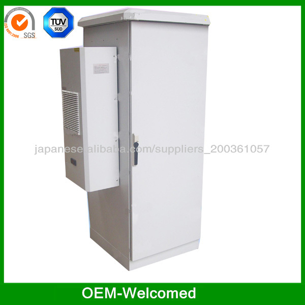 high quality telecom outdoor cabinets /battery rack enclosure IP55 high protection class