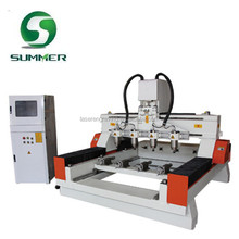 cnc router 4 axis for wood cabinet door art and craft
