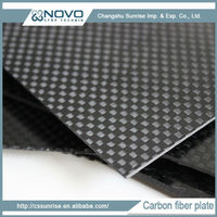 Light strong smooth durable plate carbon