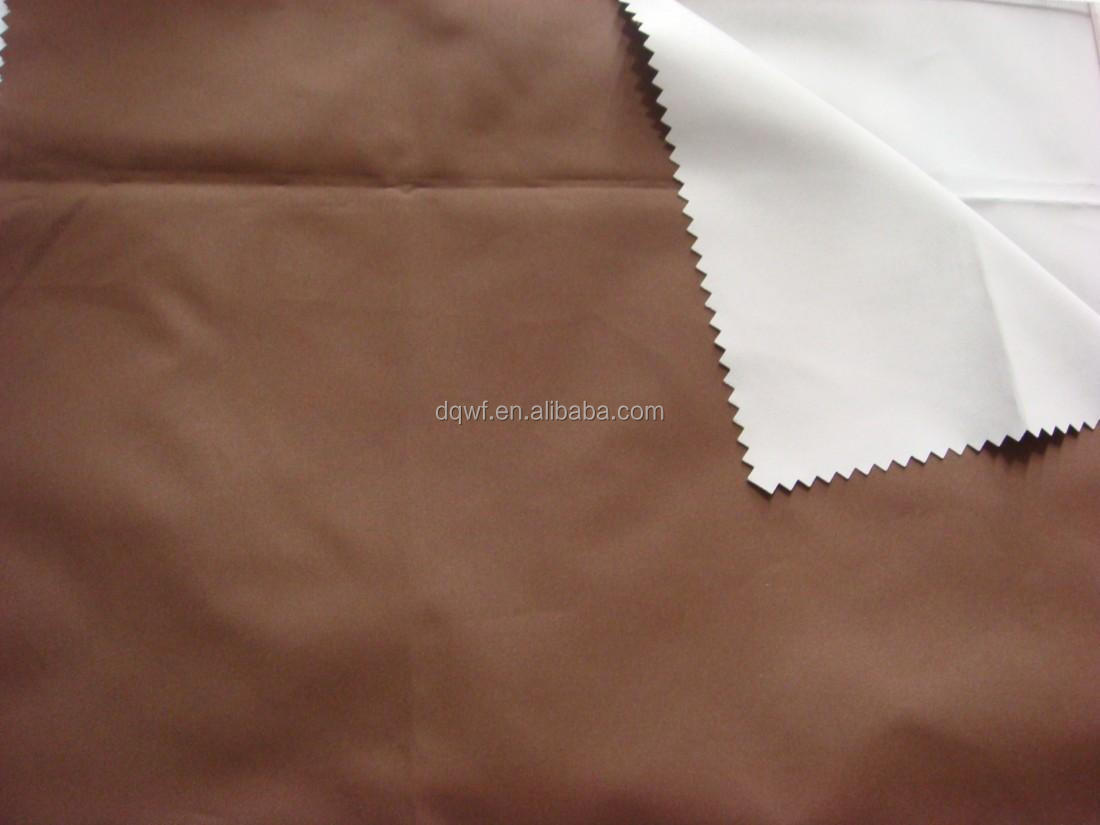 100% PES twill poly cotton plain fabric for textile