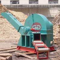 Fully Automatic Wood Chipper with Big Capacity Electric Dics Chipper