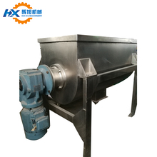 Horizontal soap liquid ribbon mixer mixing machinery