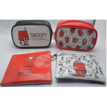 school series PVC pencil bag stationery case