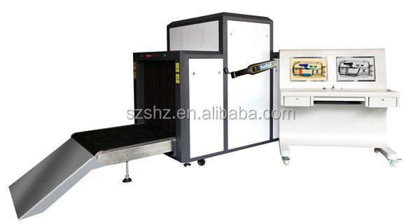 Durable usage 3 years warranty two screen X-ray baggage scanner machine TS-10080