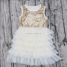 New arrival fall boutique normal frock designs kids net frock
