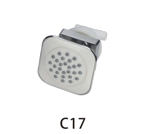 C17 ningbo supplier CICI wholesale chrome bathroom accessories shower system with body jets for shower panel