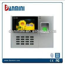 "Hot Model N308 Free Software 2.4"" TFT Color Screen Biometric Fingerprint Time Attendance With TCP/IP"