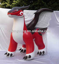 2017 new attractive zenith inflatable dragon for sale
