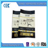 alibaba large carry out side gusset plastic pet food bags