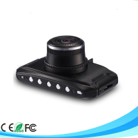 Full HD Vehicle Video Recorder with 170-Degree Wide Angle and G-Sensor