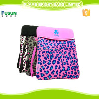 Popular leopard print neoprene cute i pad case