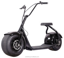Harley electric bike scooter wide tires electric bike Storage battery car