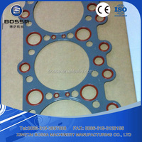Supply Kobelco S6K excavator engine head gasket kubota engine parts
