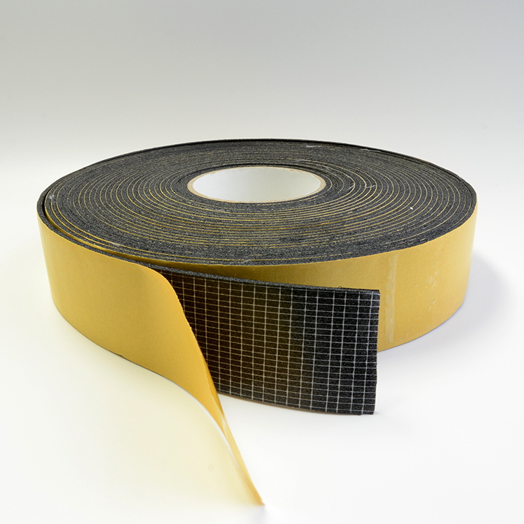 Yellow glassin paper pvc pipe insulation wrap automotive thermal insulation tape