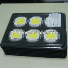 Superbrightness 6000lm Oval Copper Base 45mil Bridgelux or Taiwan Epistar 50 watt led chips