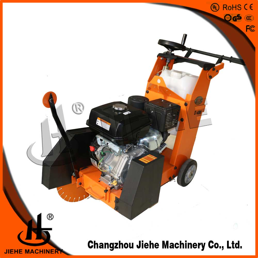 asphalt cutter,concrete groove cutter with KOHLERCH400 and water tank