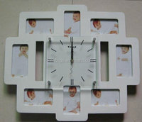 Decorative MDF Photo frame Wall Clock