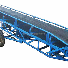 Mobile Portable Grain Loading Container Belt Conveyor for Sale